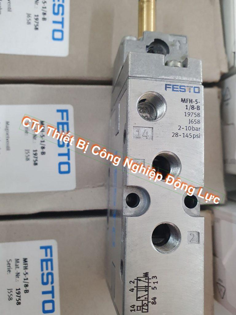 solenid valve hay còn gọi van điện từ nhập khẩu chính hãng festo của Đức phân phối với giá rẻ nhất thị trường có bảo hành 1 năm