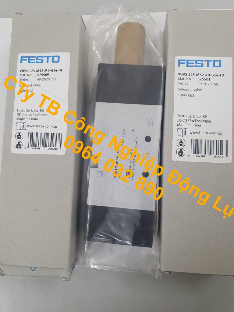 Van điện từ Festo nhập khẩu chính hãng của Đức giá tốt nhất thị trường hiện nay