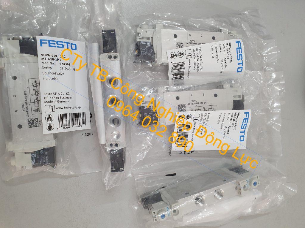 Van điện từ khí nén Festo nhập khẩu chính hãng của Đức giá tốt nhất thị trường hiện nay
