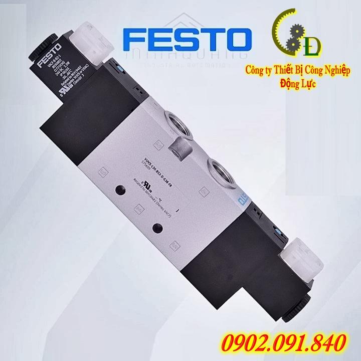 van điện từ khí nén festo VUVS-L25-M32C-AD-G14F8 575471 được công ty thiết bị công nghiệp động lực nhập khẩu chính hãng từ festo đức bảo hành uy tín toàn quốc báo giá tốt nhất