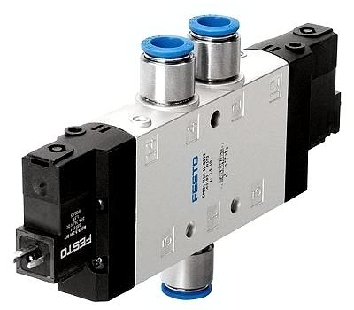 solenoid valve festo hay còn gọi là van điện từ khí nén festo nhập khẩu chính hãng, giá rẻ nhất thị trường, loại van 3 cửa 2 vị trí