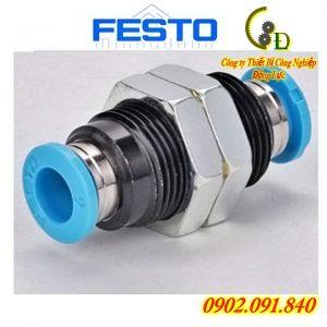 van tiết lưu festo QSS-8 hay còn gọi là đầu nối nhanh khớp nối nhanh hoặc cút nối nhanh festo do công ty động lực nhập khẩu chính hãng phân phối bảo hành toàn quốc báo giá tốt nhất